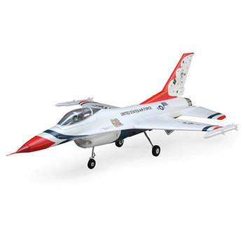 F-16 Thunderbirds 70mm EDF BNF Basic w/AS3X and SS