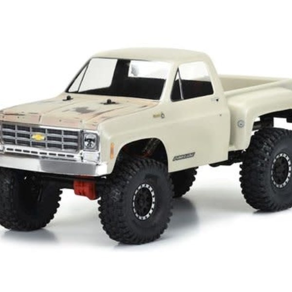 "PROLINE 1978 Chevy K-10 for 12.3"" WB Scale Crawlers"