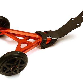 Integy Billet Machined Wheelie Bar Set for Traxxas 1/10 Stampede 4X4 C28675RED