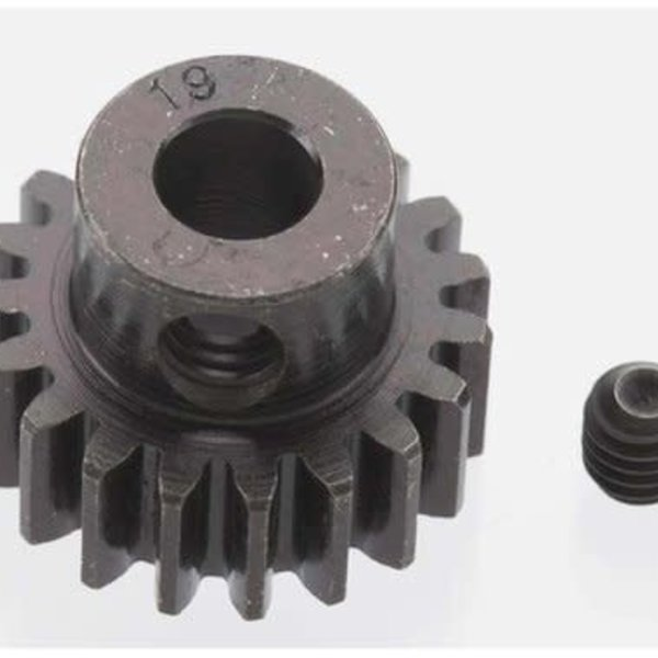 9 Extra Hard 19T Blackened Steel 32P Pinion 5mm