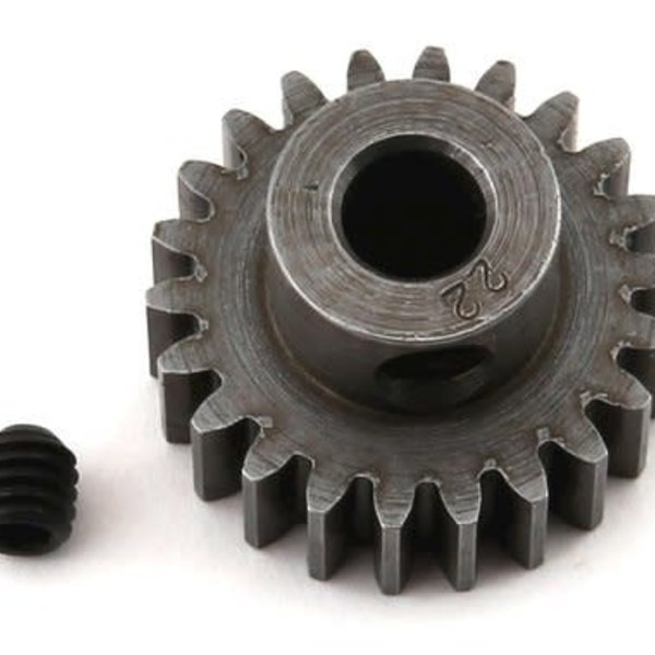 8622 Extra Hard 22T Blackened Steel 32P Pinion 5mm