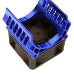 Integy 36mm Motor Heatsink+40x40mm Cooling Fan 17k rpm for Most 1/10 On-Road & Off-Road C28598BLUE