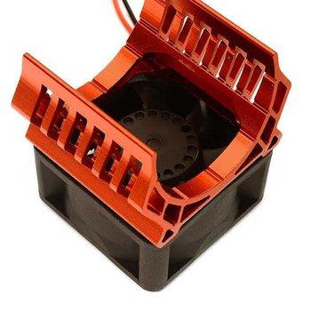 Integy 36mm Motor Heatsink+40mm Fan 17k rpm for 1/10 Slash 4X4, Stampede 4X4, 4-Tec 2.0 C28602RED