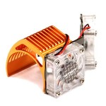 Integy Twin Motor Cooling Fan + Heatsink 540/550 2961ORANGE