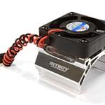 Integy igh Speed Cooling Fan+Heatsink Mount for 36mm O.D. Motor C25794SILVER