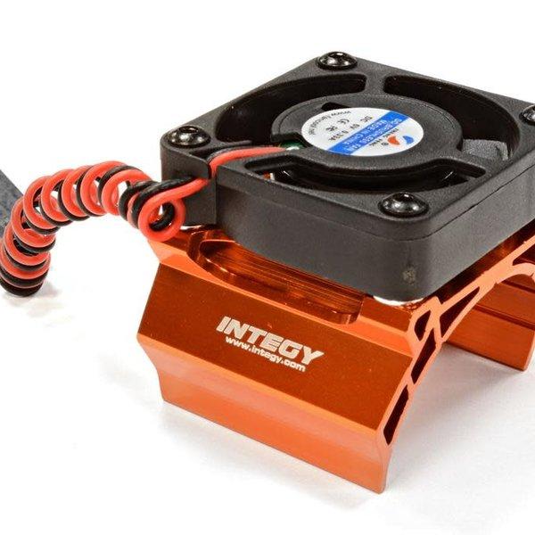 Integy High Speed Cooling Fan+Heatsink Mount for 36mm O.D. Motor C25794ORANGE