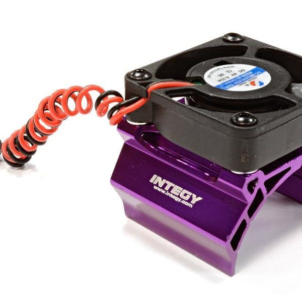 Integy High Speed Cooling Fan+Heatsink Mount for 36mm O.D. Motor C25794PURPLE