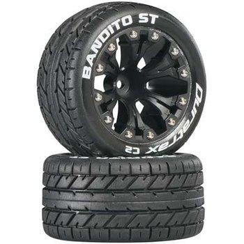 "DuraTrax Bandito ST 2.8"" Truck 2WD Mntd Fr C2 Blk (2)"