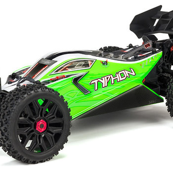 arrma TYPHON 4X4 MEGA Brushed 1/10th 4wd Buggy Green