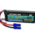 Commonsence RC Lectron Pro™ 11.1V 5200mAh 50C Lipo Battery with EC5 Connector