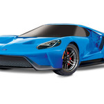 Tracks 83056-4 - Ford GT®: 1/10 Scale AWD Supercar. Ready-To-Race® with TQi Traxxas Link™ Enabled 2.4GHz Radio System, XL-5 ESC  brushed (GRD ship inc. lower 48