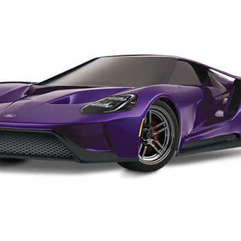 Tracks 83056-4 - Ford GT®: 1/10 Scale AWD Supercar. Ready-To-Race® with TQi Traxxas Link™ Enabled 2.4GHz Radio System, XL-5 ESC (fwd/rev), and Traxxas Stability Management (TSM)®.