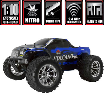 redcat Volcano S30 Truck 1/10 Scale Nitro (With 2.4GHz Remote Control) (GRD ship inc lower 48)