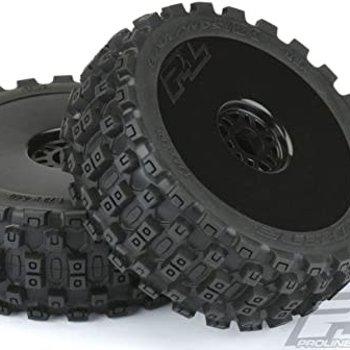 PROLINE Badlands MX M2 1:8 Buggy MTD Black Wheels F/R