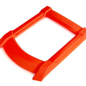Traxxas Skid plate, roof (body) (orange)/ 3x15mm CS (4) (requires #7713X to mount)