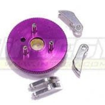 Integy 3-Piece Clutch Conversion for T-Maxx (4907, 4908, 4909, 4910) T3635PURPLE