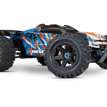 Traxxas E-Revo VXL Brushless: 1/10 Scale 4WD Brushless Electric Monster Truck with TQi 2.4GHz Traxxas  SHIPPING INCLUDED PLUS $10 AT CHECKOUT  LOWER 48 ONLY