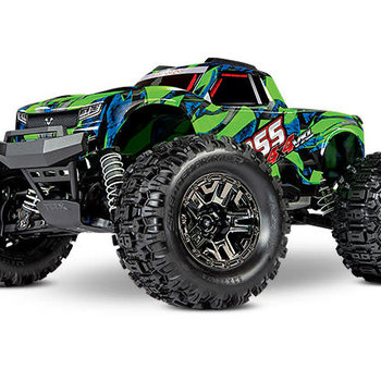 Traxxas 90076-4 - Hoss™ 4X4 VXL: 1/10 Scale Monster Truck with TQi Traxxas Link™ Enabled 2.4GHz Radio System & Traxxas Stability Management (TSM)®