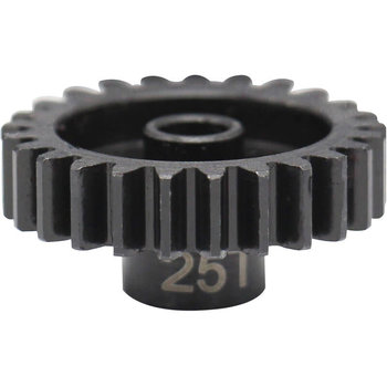 HOT RACING NSG25M1 25T Steel Mod 1 Pinion Gear 5mm