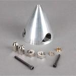"3"" 3-Blade Aluminum Spinner: Cirrus SR22T 30cc"