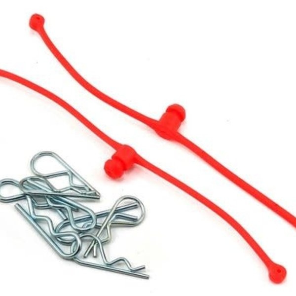 dubro 2248 BODY KLIP RETAINERS RED(2