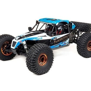 LOSI Lasernut U4 Blue, SMART ESC: 1/10 4WD RTR (Ground shipping included in online price to the lower 48 states)