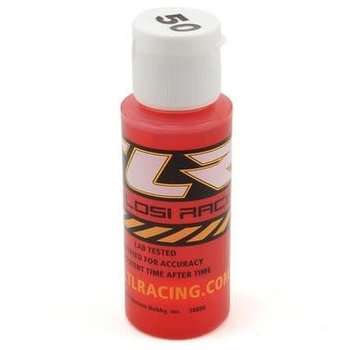 SILICONE SHOCK OIL, 50WT, 710CST, 2OZ