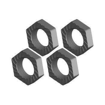 Corally Wheel Nut - Aluminum - Ribbed - 4 pcs: Dementor, Kronos,