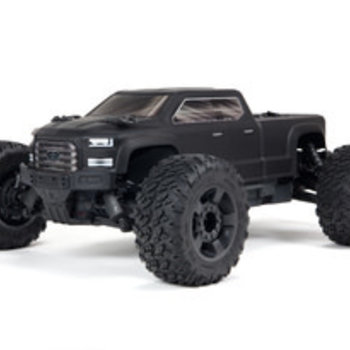 arrma BIG ROCK 4X4 3S BLX Brushless 1/10th 4wd MT Black, USA UPS Ground Shipping included