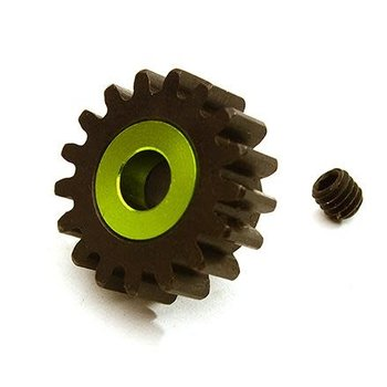Integy Billet Machined 17T Pinion Gear for Arrma 1/8 Kraton 6S BLX (MOD1) C28750GREEN