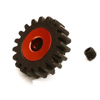 Integy Billet Machined 19T Pinion Gear for Arrma 1/8 Kraton 6S BLX (MOD1) C28752RED