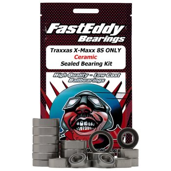 FAST EDDIE Traxxas X-Maxx 8S Ceramic Sealed Bearing Kit