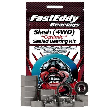 FAST EDDIE Traxxas Slash (4WD) Ceramic Sealed Bearing Kit