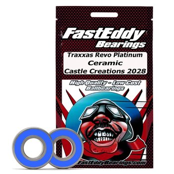 FAST EDDIE Traxxas Revo Platinum Ceramic Rubber Sealed Bearing Kit