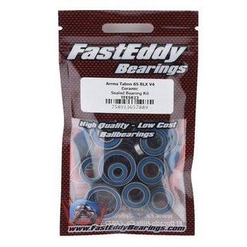 FAST EDDIE FastEddy Arrma Talion 6S BLX V4 Ceramic Sealed Bearing Kit