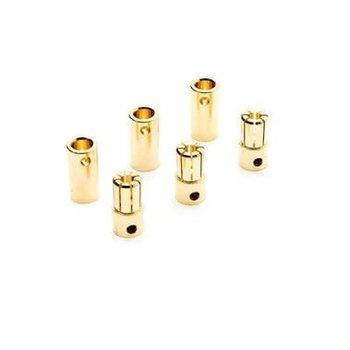 Dynamite Gold Bullet Connector Set, 6.5mm (3)
