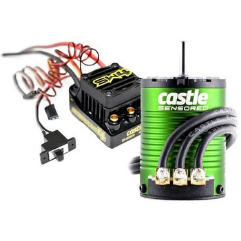 Castle Creations SW4 12.6V 2A BEC WP SL ESC, 1410-3800 5mm Sens Mt