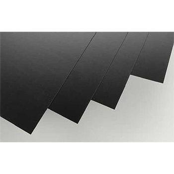 "Black Styrene Sheets, .03x8x21"" (4)"
