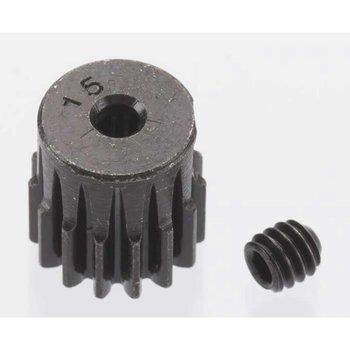 RRP Hard Blackened Steel Mini Pinion 2mm, .5 Mod 15T