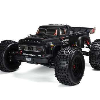 arrma AR406147 Notorious 6S BLX Body Black Real Steel (GRD SHIP INC)