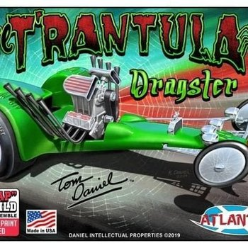 ATLANTIS 1/32 Tom Daniel's T'rantula Dragster (Snap) (formerly Monogram)