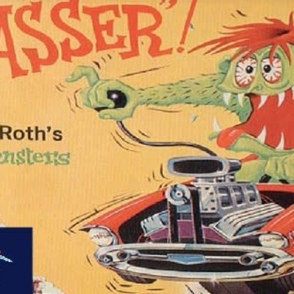 ATLANTIS 1/25 Ed Big Daddy Roth Mr. Gasser Car w/Monster Figure (formerly Revell)