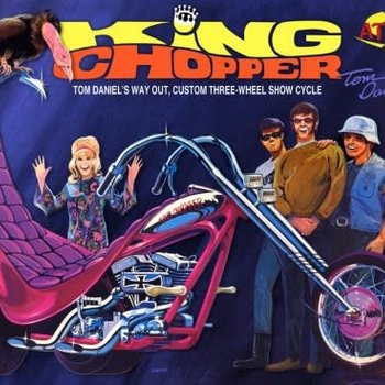 ATLANTIS 1/8 Tom Daniel's Way Out Custom King Chopper II Three-Wheel Show Cycle (formerly Monogram)
