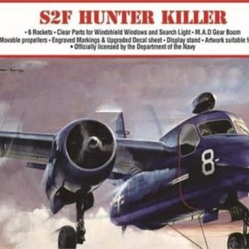 ATLANTIS 1/54 S2F Hunter Killer Aircraft (formerly Aurora)