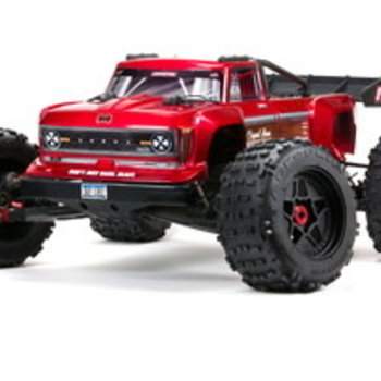 arrma OUTCAST 4X4 8S BLX 1/5th Stunt Truck Red (ONLINE PRICE INCLUDES SHIPPING TO THE LOWER 48 STATES)