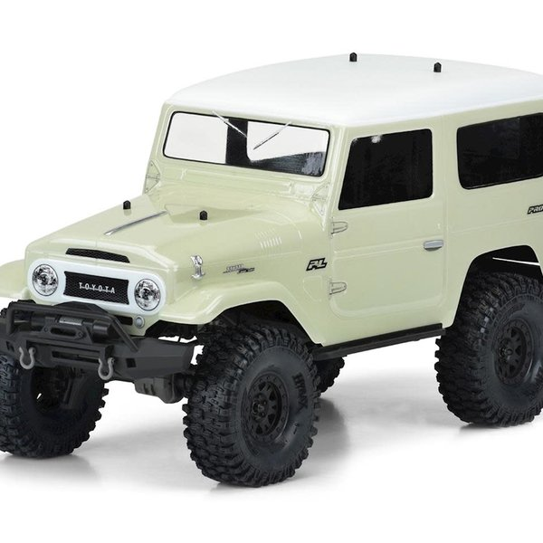 "1965 Toyota FJ40 Clear Body 12.8"" WB TRX-4"