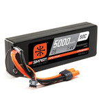 Spektrum 5000mAh 2S 7.4V 50C Smart LiPo Hardcase; IC3