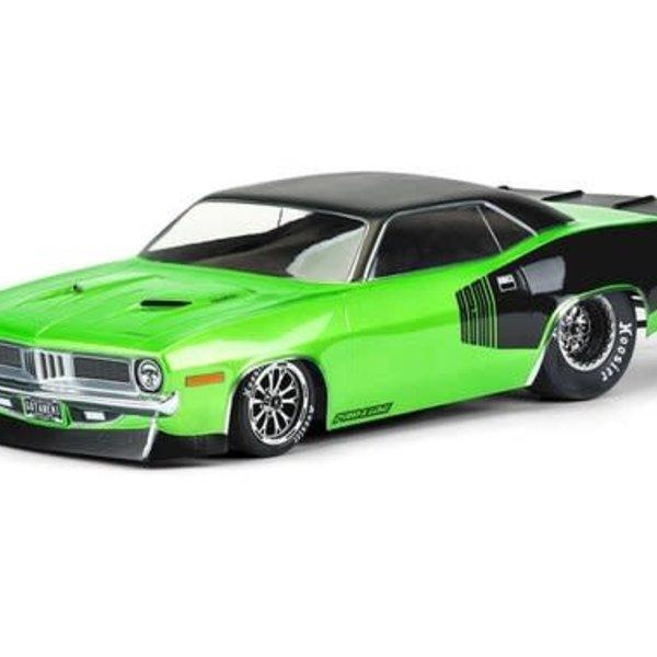 PROLINE 1972 Plymouth Barracuda Clear Body Slash 2wd Drag