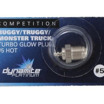 Dynamite Platinum Turbo Glow Plug, #5 Hot