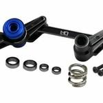 HOT RACING Aluminum Servo Saver Bellcrank Steering Maxx